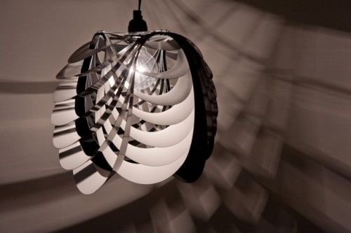 homedesigning:  The Kinema Pendant Luminaire by Stuart Fingerhut » CONTEMPORIST