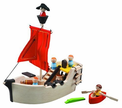 Pirate Ship $49.50 from Plan Toys Here