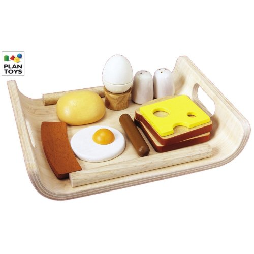 Breakfast Menu $24.99 from Plan Toys Here
