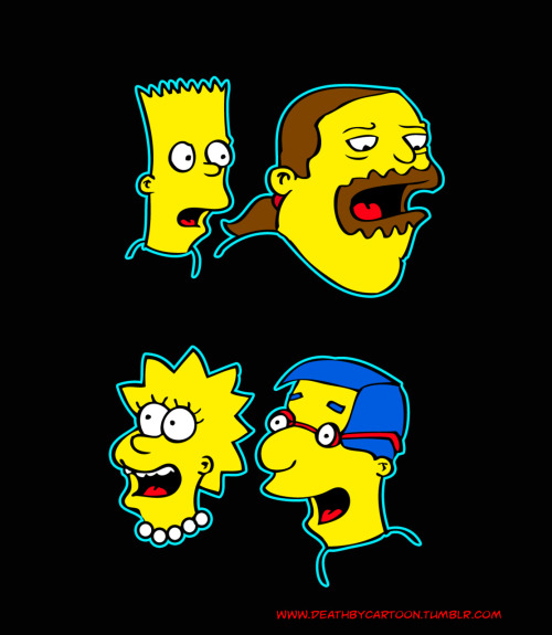 Simpsons Shocked & Happy