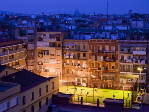 Soccer in a Barcelona Suburb, National Geographic