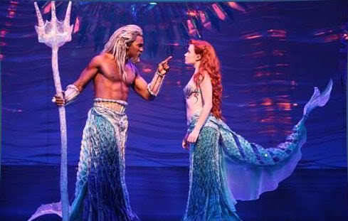ohheyshowtunes:  Norm Lewis and Sierra Bogges in The Little Mermaid