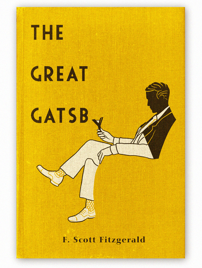 bookcoverdesign:  The Great Gatsby F. Scott Fitzgerald design: Aled Lewis   « mariaiguana »   Oh my.