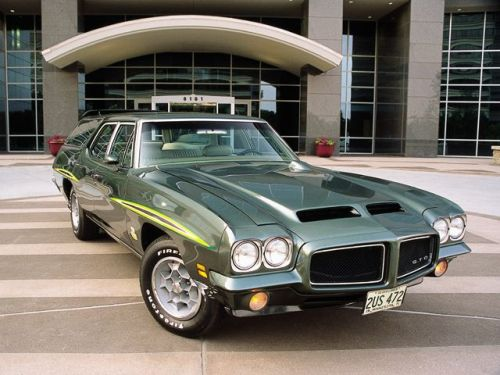 WAGON WEDNESDAY  1968 Pontiac LeMans GTO Wagonvia image.highperformancepontiac.com