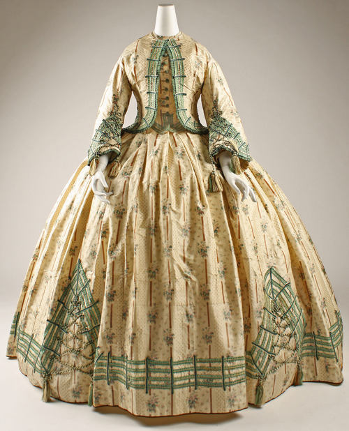 Afternoon Dress | c. 1862