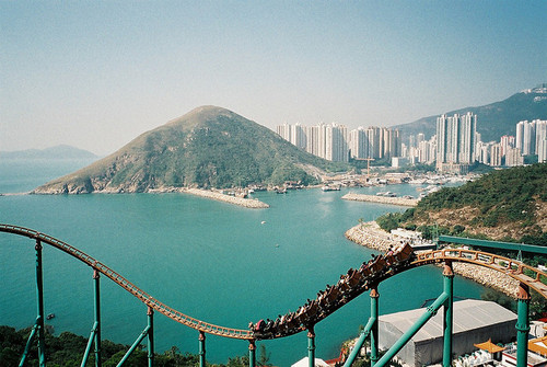 sunsurfer:  The Mine Train, Hong Kong  photo via vegasskies