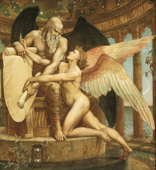 """The Roll of Fate"" ~ Walter Crane"