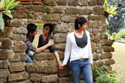 One of my favorite photoshoots ^_^ Yumi, Miyo and Ralph, in La Mesa Dam EcoPark.
