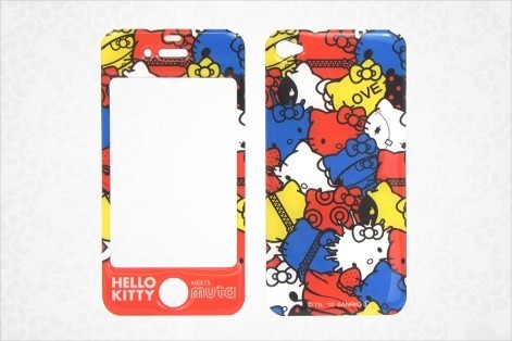 Hello Kitty Designer iPhone® 4 Stick-On Skin: Multi