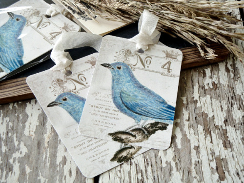 crumpledenvelope:  No. 4 Bird Tags