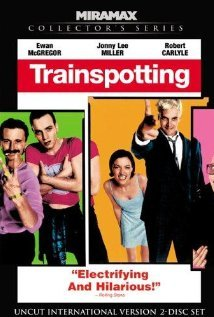 "TRAINSPOTTING (1996) Directed by: Danny Boyle Written by: Irvine Welsh (novel), John Hodge (screenplay)  I really liked this film because what I expected to happen (with the exception of the characters relapsing) consistently did not happen. For example (*SPOILER*) when baby Dawn is found dead, which was a very emotionally effective dolly shot, one would expect this would be the turning point that would motivate the parents of Dawn to stop using. But what happens is that the mom shortly after finding the baby uses heroin again. But then when I really thought about it, that's what I would expect a person would do in real life, but not in a movie, so it was refreshing. Honestly I would most likely do the same thing because it would cause me to forget that I just practically murdered my own child, and it would numb the grief. In this respect the film doesn't glamorize drug use, but it does convey the attractive reasons why people use drugs. When not using drugs ""You have to worry about bills, about food, about some football team that never wins, about human relationships and all the things that really don't matter when you've got a sincere and truthful junk habit."" But then the film shifts and shows all the terrible consequences.  Favorite Quote: Mark ""Rent-boy"" Renton: It wasn't just the baby that died that day. Something inside Sick Boy was lost and never returned. It seemed that he had no theory with which to explain a moment like this… nor did I. Our only response was to keep on going and 'fuck everything'. pile misery upon misery, heap it up on a spoon and dissolve it with a drop of bile, then squirt it into a stinking, puerile vein and do it all over again. Keep on going, getting up, going out, robbing, stealing, fucking people over. Propelling ourselves with longing towards the day that it would all go wrong, because no matter how much you stash, or how much you steal you never have enough. No matter how often you go out and rob and fuck people over, you always need to get up and do it all over again."
