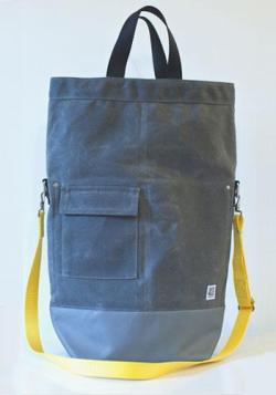 Love this heavy duty canvas bag. For sale via artintheage