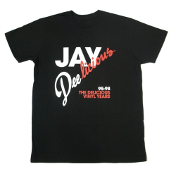 loudminority:  DELICIOUS VINYL JAY DELICIOUS TEE Black