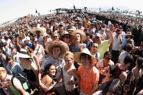 "Coachella's Six-Day Sellout: Blame the Mexicans! Some Coachella fans are attributing the record to the reunion of rock en espanol band Caifanes (described as ""FRENCH FRIES POPULAR"" and ""OBAMA POPULAR"" by one poster)."