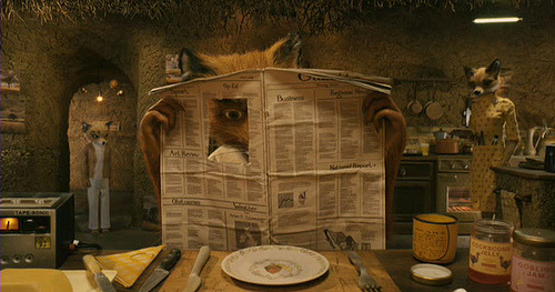 Fantastic Mr Fox - Fried egg