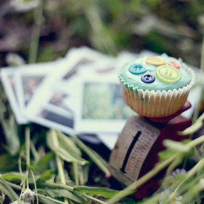 Button Cupcake | Cute Cupcakes | CutestFood.com