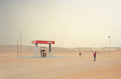 Somewhere in the Middle of Nowhere is a photography project by Chris Sisarich, taking a look at the landscapes of Egypt. Great use of negative space and minimalist subject inclusion. Check out more here.