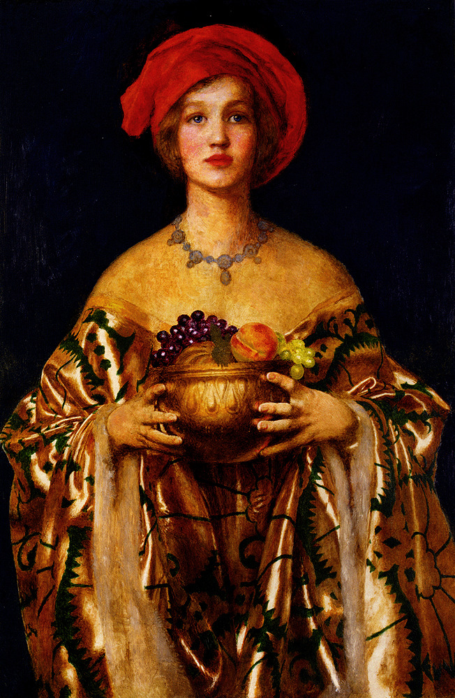 welovepaintings:  Frank Cadogan Cowper (1877-1958)The Golden BowlOil on canvas195574 x 110.5 cm