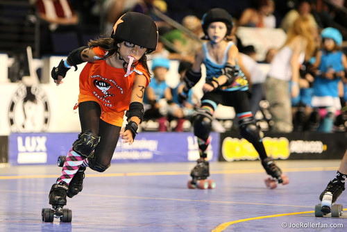 OMG Tiny rollergirls might be the only reason I would ever want to have a kid. I would create a baby BRUISER.