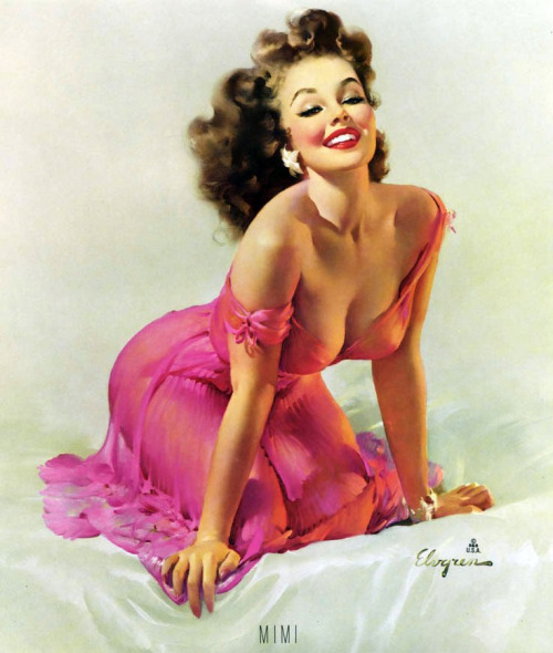 vintageladies:  by Gil Elvgren