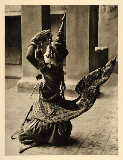 ohmykhmer:  1935 - Kinarei (កន្នរី). Photograph by Martin Hürlimann.