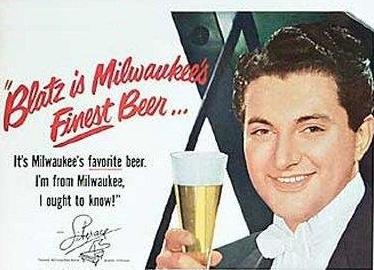 Who BETTER to recommend beer than Liberace?