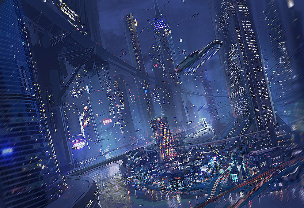 unknownskywalker:  City Of the Night by Colin Geller