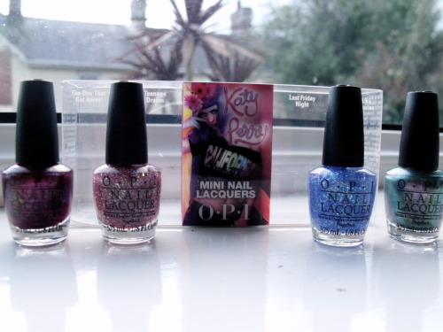 Katy Perry OPI Collection.