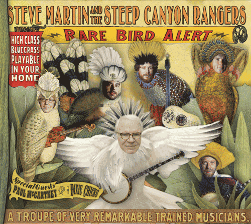 Steve Martin is releasing his second banjo album with The Steep Canyon Rangers on March 15th. Check out Steve's official site for a chance to download the title track for free!