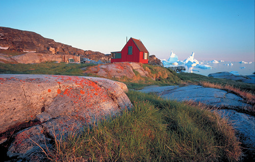 This beautiful settlement you all love, Qaanaaq, has a rather vast history. Being so far north and close to arctic Canada, it is considered to be the point that early Inuit cultures first passed through when migrating to Greenland.  The first groups came in 2500-2000 BCE, and travels between the areas of Ellesmere Island and Baffin Island continued through the early 19th century.  The inhabitants of Qaanaaq are actually of a different ethnic group than the Kalaallit in West Greenland, who make up the  majority of the country and whose language is official.  They are the Inughuit, and their language - Inuktun - is somewhere between Kalallisut of West Greenland and Inuktitut of Nunavut, in Canada. In the 1950s, in the middle of the Cold War, the US decided to build an air base in the former location of Qaanaaq.  The inhabitants were forced to move 31 km away, and rebuild.  The Inuit Circumpolar Conference challenged this in Danish court in 2002, and while the courts granted that the relocation was illegal, they did not grant the residents the right to return.  This was the first recorded (and some may argue only) forced relocation of Inuit in Greenland.  Since then, closures of small, isolated settlements have become common, and it has even become the opinion of the current government that such communities should disappear into urbanization - a pattern of living that directly contradicts traditional Inuit lifestyles.