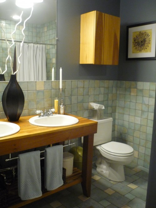 tile and vanity perfection!