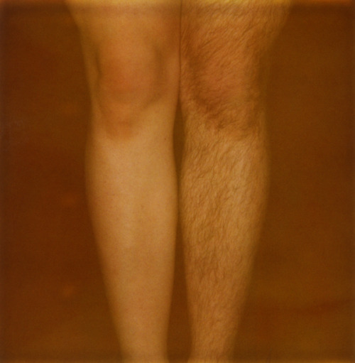 stephenpacuk:  both and neither, self-portrait, polaroid, 2011.