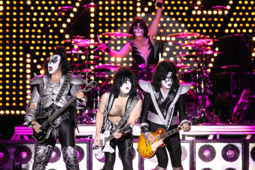 fuckyeahrockphotos:  KISS. Photo by Mike Carroccetto