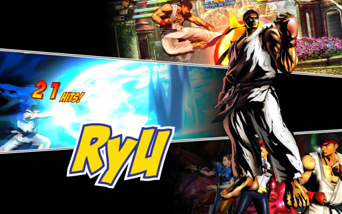 MVC3 TEAM CAPCOM - Ryu  N.B. Wallpaper sized, bitches!