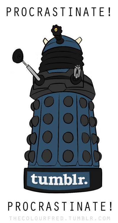 thescienceofjohnlock:  YAY! The tumblr Dalek is back.