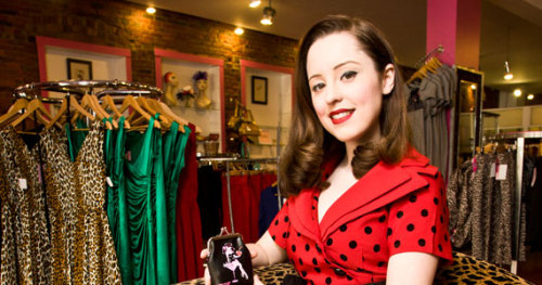 Cadence MacMichael in Pretty Things Boutique