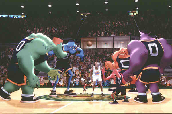 The Monstas from Space Jam (1996)