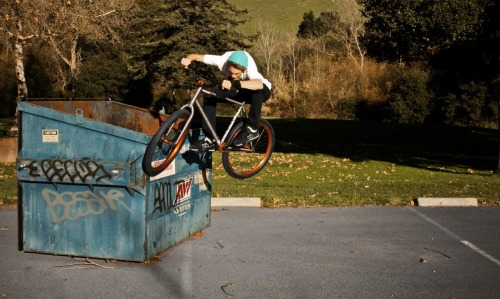 Matt Reye's Toothpick on Dumpster -Wizzard