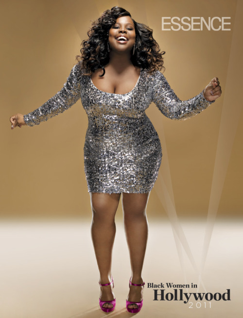 "chelebelleslair:  Amber Riley in ESSENCE magazine's March ""Black Women in Hollywood"" issue."