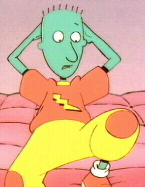 Never understood why Skeeter was blue