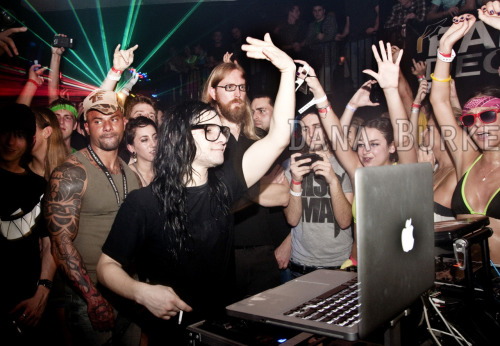 Skrillex at The Vault Nightclub - February 1, 2011 - Gainesville, FL