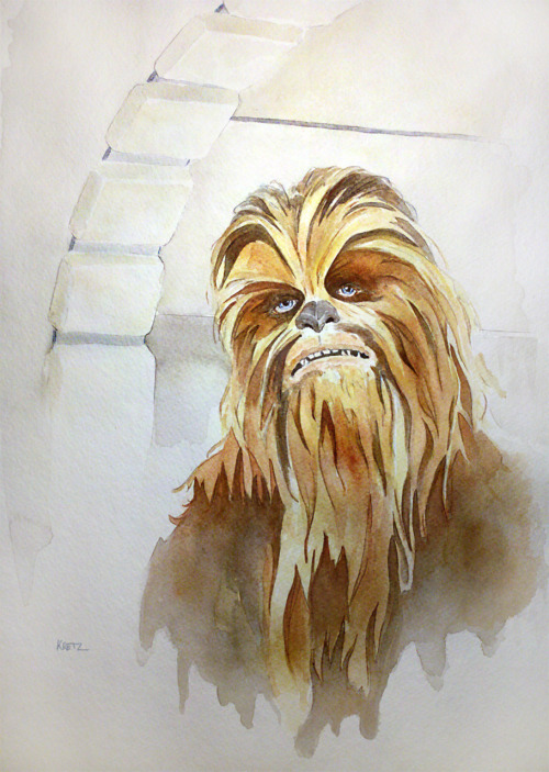 Chewbacca the Mighty Wookiee - by Mike Kretz
