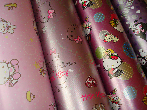 i love wrapping paper(: