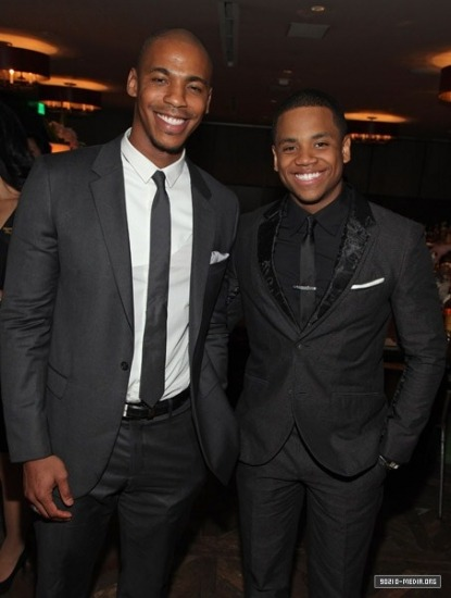 fuckyeaah90210:  Tristan and Mehcad Brooks  Successful Black Men