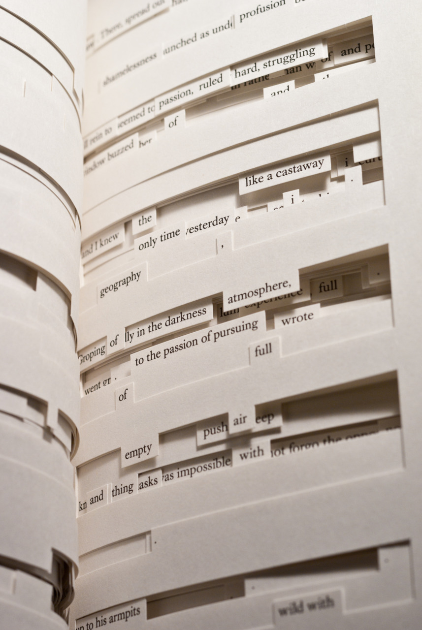 Tree of Codes by Jonathan Safran Foer | Flickr - Photo Sharing!
