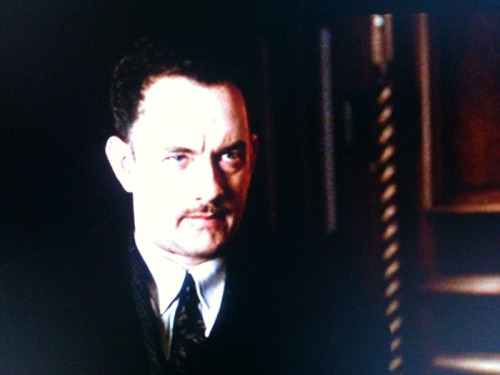 broday:  Watchin' Tom Hanks in a moustache. Good times all around.