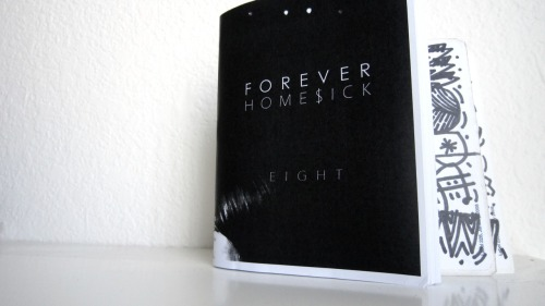 "rockitdontstopit:  Free Shit x ""Forever Homesick 8"" Zine …""Forever Homesick 8"" is the eighth (duh) in the series of zines that Juan Gabe started a while ago. these are all gone now and are no longer available. this zine has photos and designs/drawings all from Juan; it is 32 pages long, 4.25 inches by 5.5 inches, some pages in black/white and some in color, and also includes 2 hand-drawn stickers. i am giving away 1 FREE copy of this zine TODAY.   to enter this giveaway: REBLOG THIS POST ON YOUR BLOG.   if you are working with blogspot or any other blog/website, repost it on there and email me the link: siqshit@gmail.com after 24 hours, i will randomly choose 1 person who reblogged this post and send you this zine for FREEEEEEEEEEEE. and i will ship internationally.   thanks for supporting siqshit the blog."