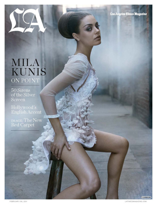 Mila Kunis (Los Angeles Times magazine, february 2011)