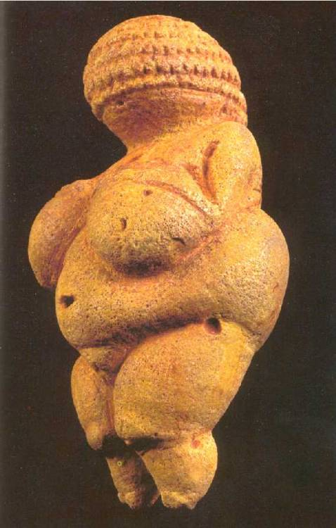 cavetocanvas:  Woman Of Willendorf - 22,000 - 21,000 BCE