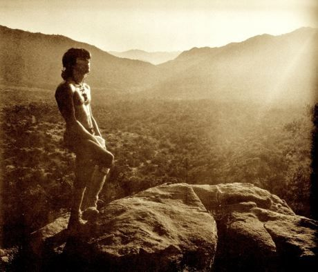 Keith Richards At Joshua Tree